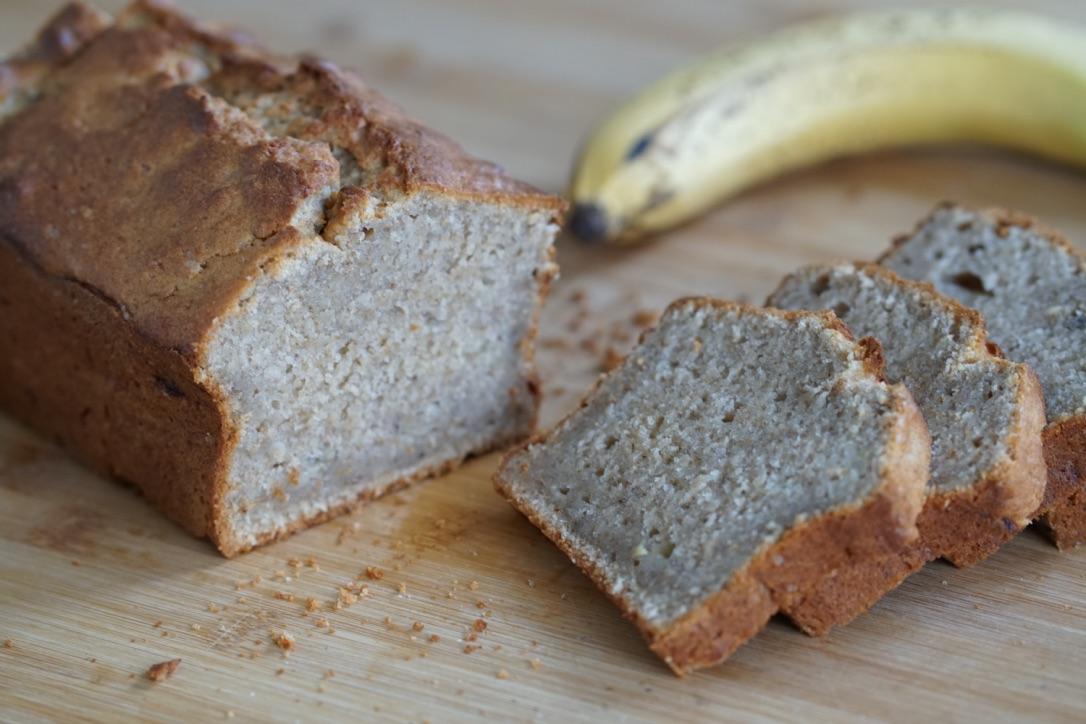Bananen Kuchen mit Nüssen